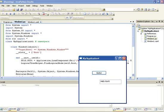 Introducing Python for  NET - IronPython -  NET tutorial