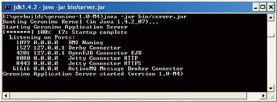 Discover the Geronimo Enterprise Server - Java tutorial