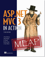 ASP.NET MVC3 in Action Cover