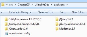 Packages folder