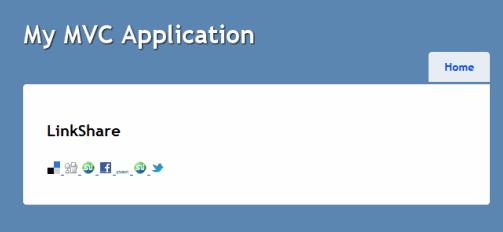LinkShare helper screenshot