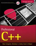 Professional C++ 2e Book Cover