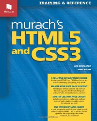 Murach's HTML5 and CSS3 Book Cover
