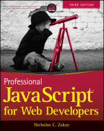 Professional JavaScript for Web Developers, 3rd Edition Book Cover
