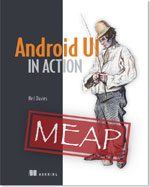 Android UI In Action Book Cover