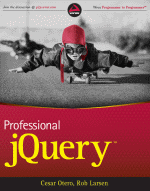 Professional jQuery Book Cover