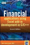 Financial Applications using Excel Add-in Development in C/C++ (The Wiley Finance Series)